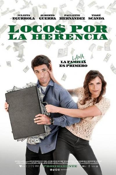 Caratula, cartel, poster o portada de Locos por la herencia