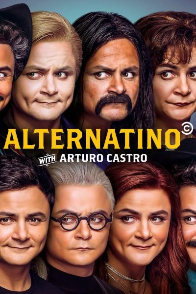 Caratula, cartel, poster o portada de Alternatino with Arturo Castro