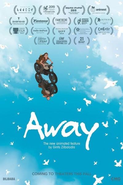 Caratula, cartel, poster o portada de Away