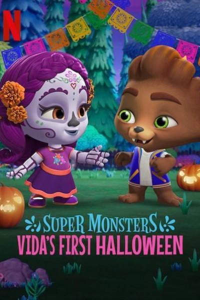 Caratula, cartel, poster o portada de Super Monsters: Vida\'s First Halloween