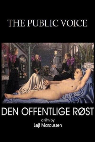 Caratula, cartel, poster o portada de La voz pública