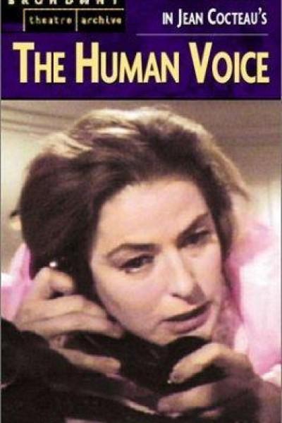 Caratula, cartel, poster o portada de La voz humana