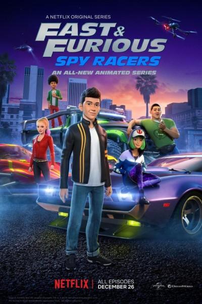 Caratula, cartel, poster o portada de Fast & Furious: Espías a todo gas