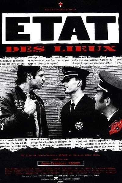 Caratula, cartel, poster o portada de État des lieux