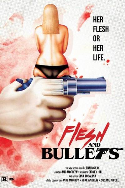 Caratula, cartel, poster o portada de Flesh and Bullets