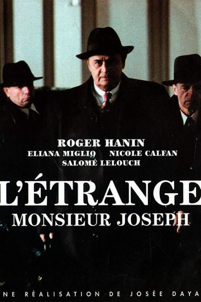 Caratula, cartel, poster o portada de L\'étrange monsieur Joseph