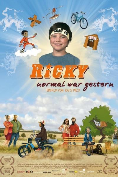 Caratula, cartel, poster o portada de Ricky - normal war gestern