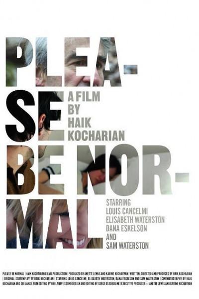 Caratula, cartel, poster o portada de Please Be Normal