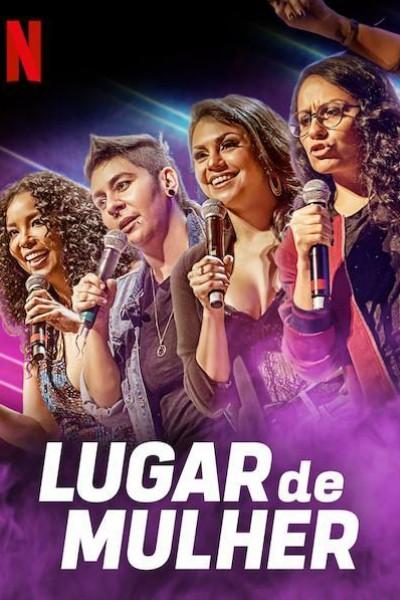 Caratula, cartel, poster o portada de Lugar de Mulher