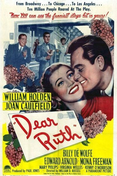 Caratula, cartel, poster o portada de Querida Ruth