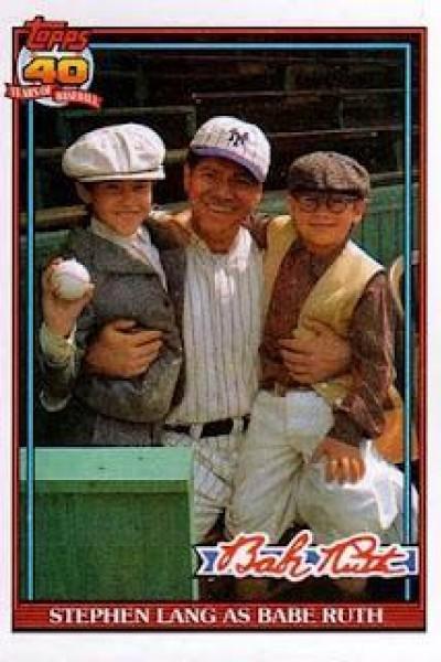 Caratula, cartel, poster o portada de Babe Ruth