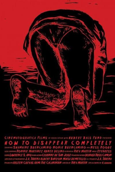Caratula, cartel, poster o portada de How to Disappear Completely