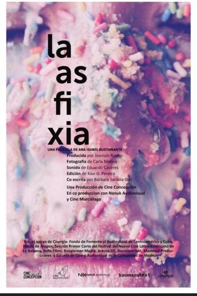 Caratula, cartel, poster o portada de La asfixia