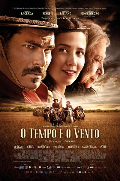 Caratula, cartel, poster o portada de O Tempo e o Vento