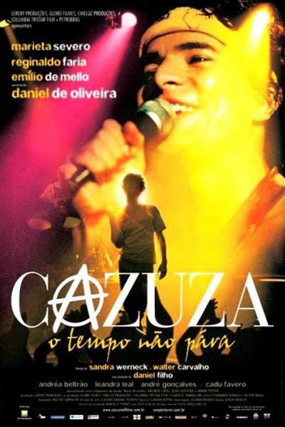 Caratula, cartel, poster o portada de Cazuza: El tiempo no para