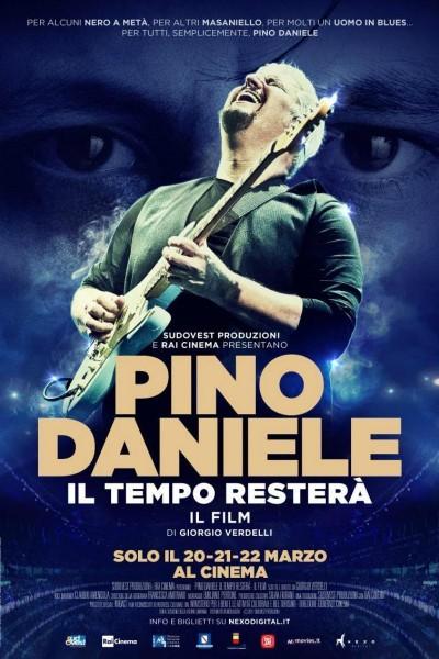 Caratula, cartel, poster o portada de Pino Daniele - Il tempo resterà