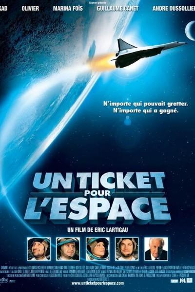 Caratula, cartel, poster o portada de Un ticket pour l\'espace