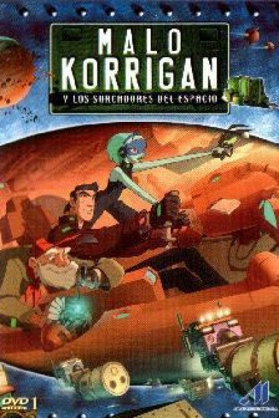 Caratula, cartel, poster o portada de Malo Korrigan y los surcadores del espacio