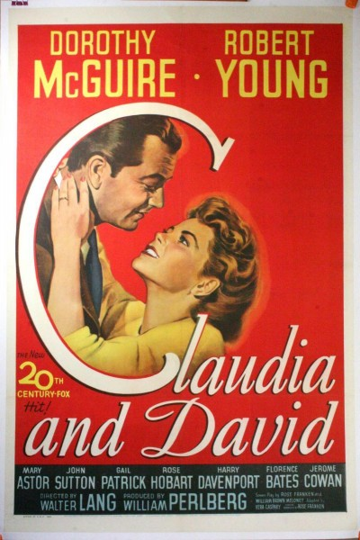 Caratula, cartel, poster o portada de Claudia and David