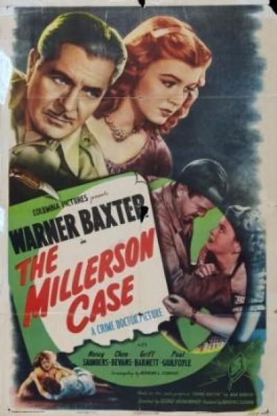Caratula, cartel, poster o portada de The Millerson Case