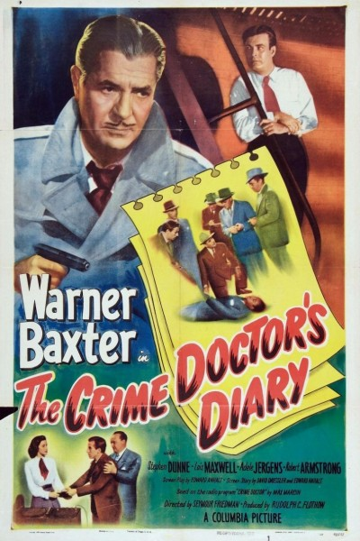 Caratula, cartel, poster o portada de The Crime Doctor\'s Diary