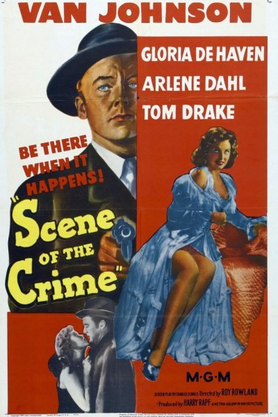 Caratula, cartel, poster o portada de Scene of the Crime