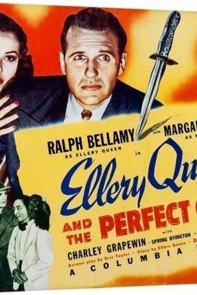 Caratula, cartel, poster o portada de Ellery Queen and the Perfect Crime
