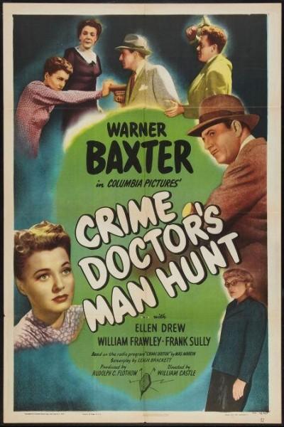 Caratula, cartel, poster o portada de Crime Doctor\'s Man Hunt