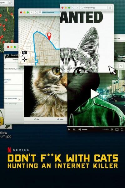 Caratula, cartel, poster o portada de A los gatos, ni tocarlos: Un asesino en internet