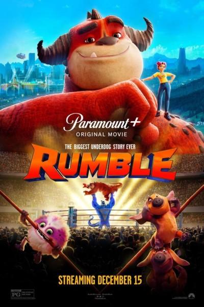 Caratula, cartel, poster o portada de Rumble, la liga de los monstruos