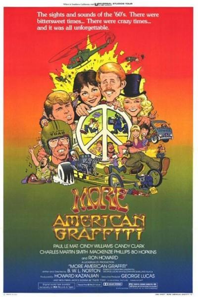 Caratula, cartel, poster o portada de More American Graffiti