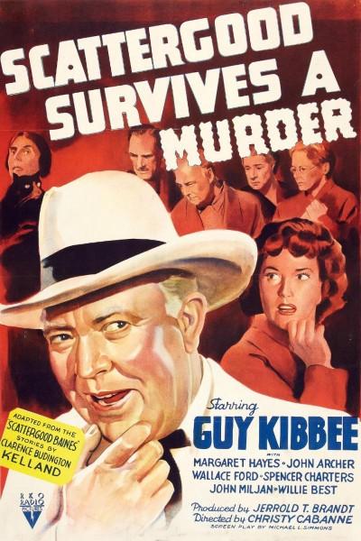 Caratula, cartel, poster o portada de Scattergood Survives a Murder