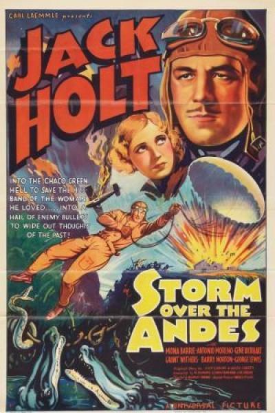 Caratula, cartel, poster o portada de Storm Over the Andes