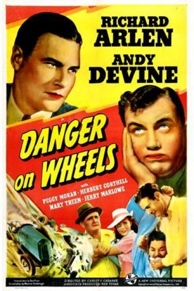Caratula, cartel, poster o portada de Danger on Wheels