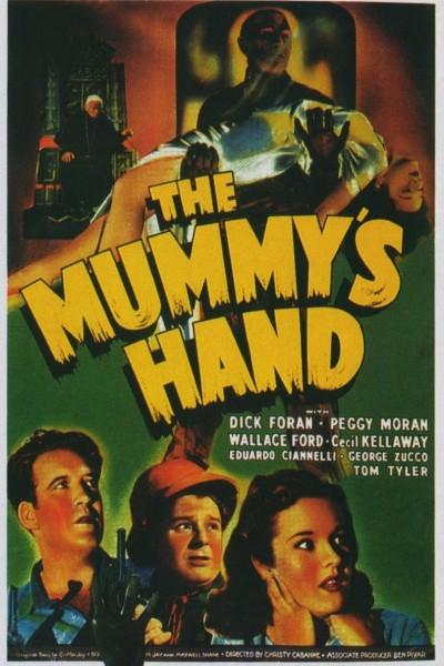 Caratula, cartel, poster o portada de La mano de la momia