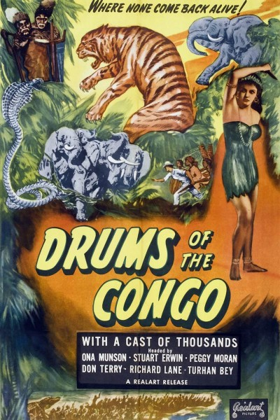 Caratula, cartel, poster o portada de Drums of the Congo