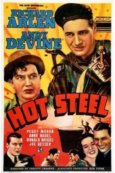 Caratula, cartel, poster o portada de Hot Steel