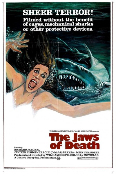 Caratula, cartel, poster o portada de Mako, el tiburón de la muerte