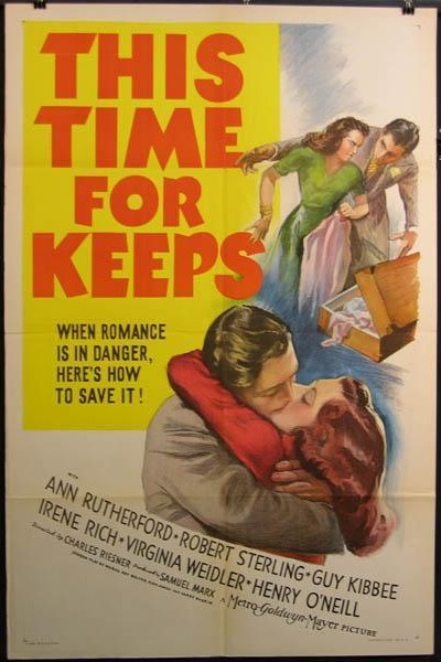 Caratula, cartel, poster o portada de This Time for Keeps