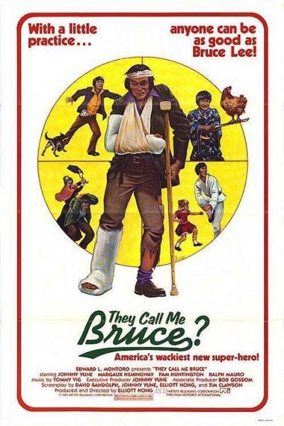 Caratula, cartel, poster o portada de Le llamaban Bruce