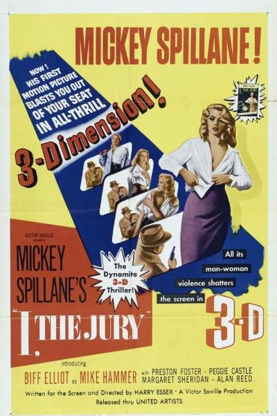 Caratula, cartel, poster o portada de I, the Jury