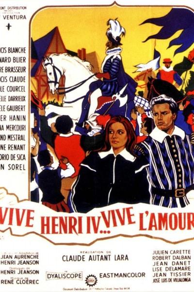 Caratula, cartel, poster o portada de Vive Henri IV... vive l\'amour!