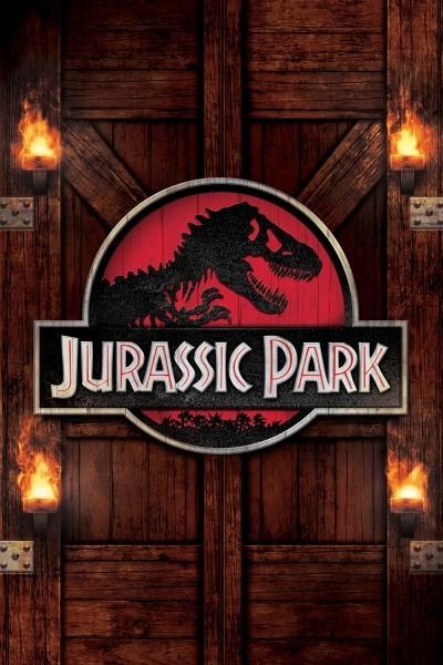 Caratula, cartel, poster o portada de Parque Jurásico (Jurassic Park)