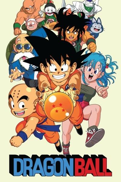 Caratula, cartel, poster o portada de Dragon Ball (Bola de Dragón)