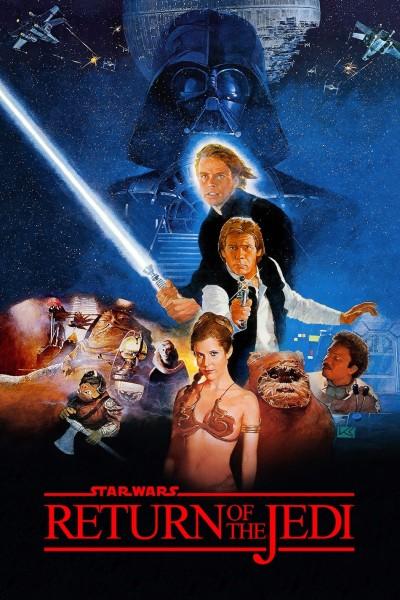 Caratula, cartel, poster o portada de La guerra de las galaxias. Episodio VI: El retorno del Jedi