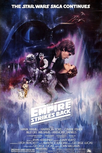 Caratula, cartel, poster o portada de La guerra de las galaxias. Episodio V: El imperio contraataca