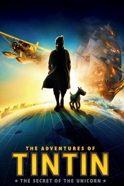Caratula, cartel, poster o portada de Las aventuras de Tintín: El secreto del unicornio