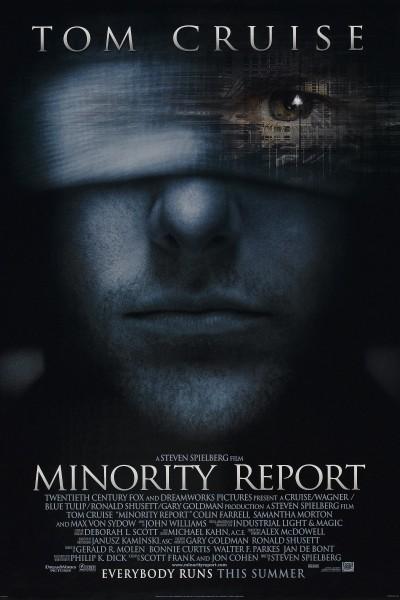 Caratula, cartel, poster o portada de Minority Report