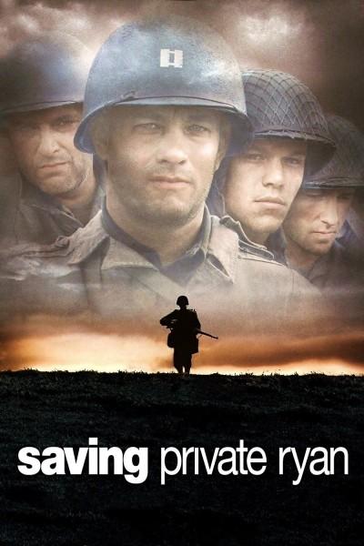 Caratula, cartel, poster o portada de Salvar al soldado Ryan
