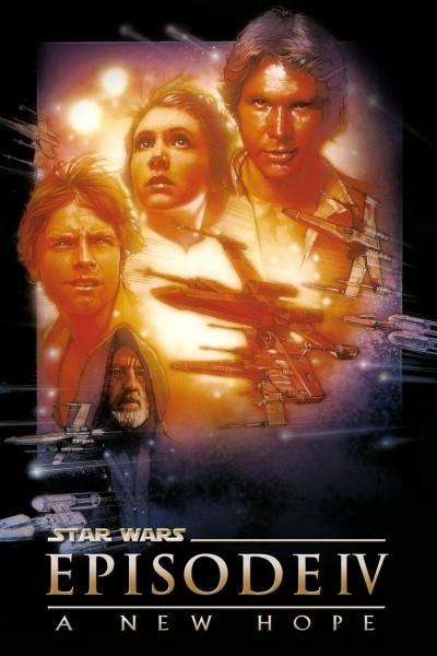 Caratula, cartel, poster o portada de La guerra de las galaxias. Episodio IV: Una nueva esperanza